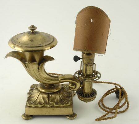 Colza oil lamp