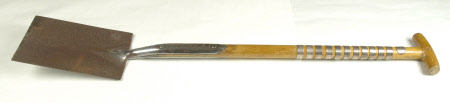 Commemorative spade