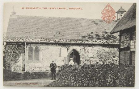 View of St. Margaret's, The Leper Hospital, Wimborne, Dorset