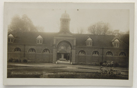 The stable block, Kingston Lacy, Dorset