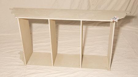 Mural shelves