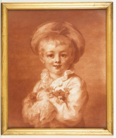 Boy Dressed as Pierrot
