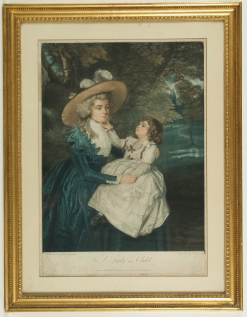 Mrs Seaforth and Child (after Sir Joshua Reynolds)