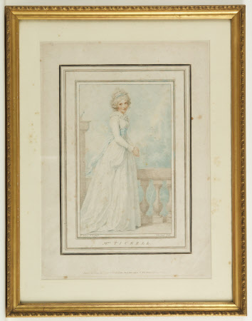 Mary Linley, Mrs Richard Tickell (1758 - 1787) (after Richard Cosway)