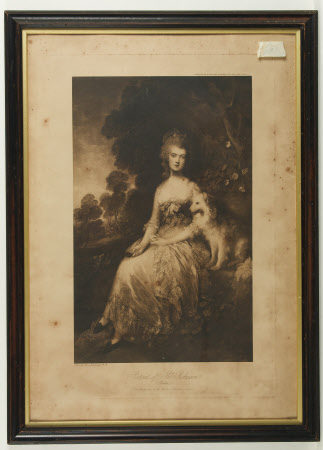 Mary Darby, Mrs Thomas Robinson, 'Perdita' (1758-1800) (after Thomas Gainsborough)