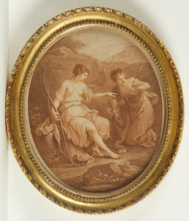 Diana preparing for hunting (after Angelica Kauffman)