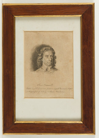 Oliver Cromwell (1599-1658) Lord Protector (after Samuel Cooper)