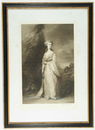 Jane Clitherow, Mrs Peter William Baker (d.1816) (after Thomas Gainsborough)