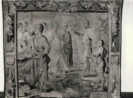 Marcus Aurelius Recommending his Son to the Philosophers