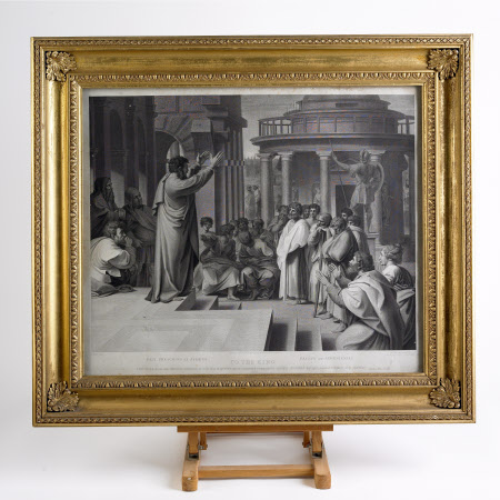 Paul preaching at Athens (after Raphael)
