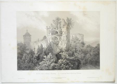 Le tour feudueau Chateau d'Heidelberg (after Jean Baptiste Chapuy)