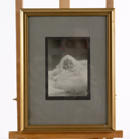 Walter Albert Nevill (Tommy) MacGeough Bond (1908 - 1986) as a baby