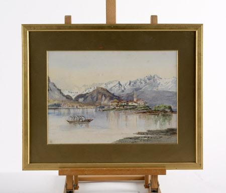 Alpine Lake Scene