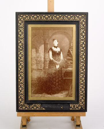 Unknown lady in court dress