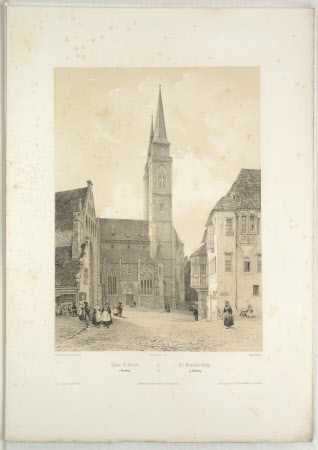 Church of St. Sebald, Nuremberg (after Jean Baptiste Chapuy)