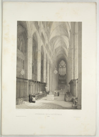 Interior, Cathedral, Bourges