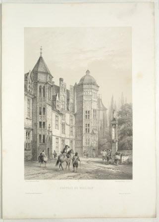 Chateau de Meilhan (after Jean Baptiste Chapuy)