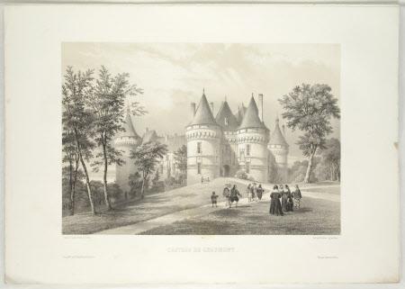 Chateau de Chaumont (after Jean Baptiste Chapuy)