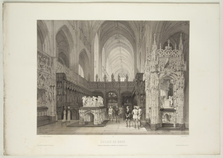 Tomb of Marguerite de Bourbon (1438-1483) and her husband Philibert II, Duke of Savoy (1480-1504), ...