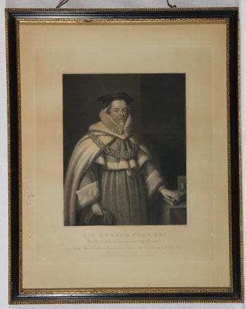 Sir Edward Coke (1552-1634) (after Cornelius Johnson)