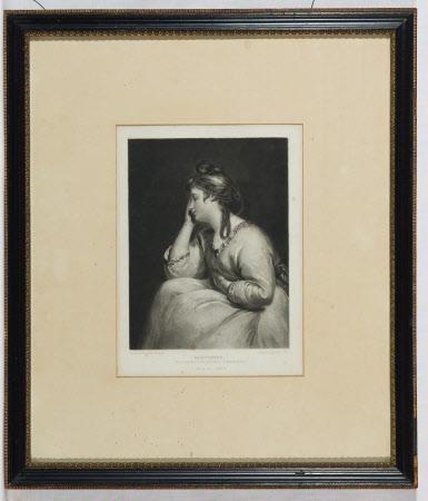 Mrs Spencer as Meditation (after Sir Joshua Reynolds)