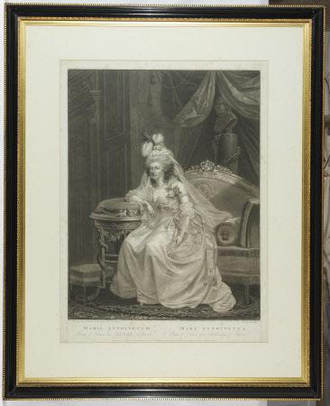 Queen Marie-Antoinette, Queen of France (1755–1793) (after Anton Hickel)