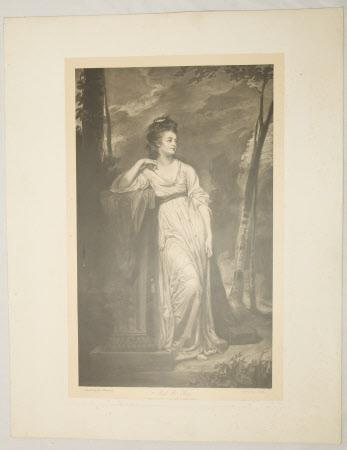 Frances Woodley, Mrs Henry Bankes the younger(1760-1823) (after George Romney)