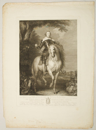 Francisco de Moncada, Marques de Aytona (1586-1635) on horseback (after Sir Anthony van Dyck)