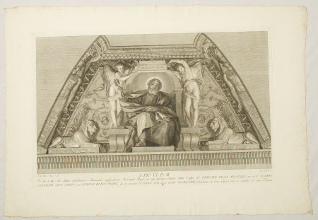 St Peter (after Anton Raphael Mengs)