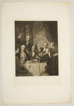 Members of the Dilettanti Society (after Sir Joshua Reynolds PRA)