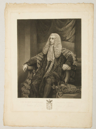 Charles Abbot, 1st Baron Colchester (1757-1829), Speaker of the House of Commons (after James ...