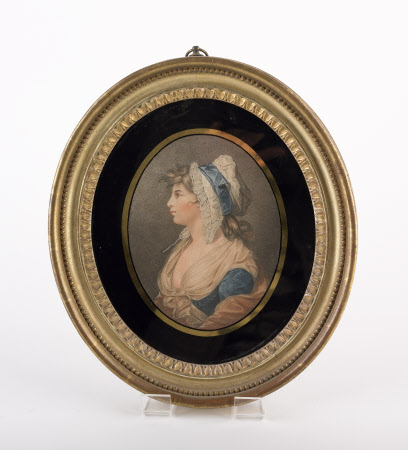 A St Giles's Beauty - Elizabeth Burrough (fl.1777-1785) (after John Hodges Benwell)