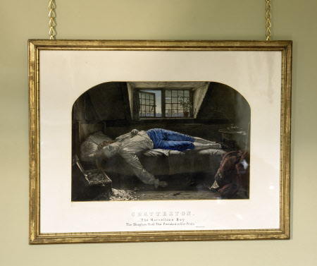 The Death of Thomas Chatterton (1752-1770)