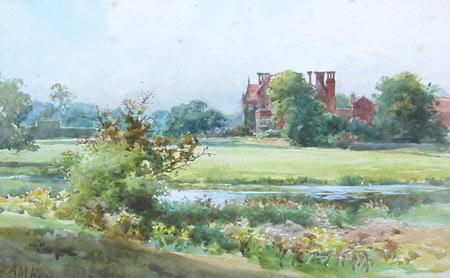 View of Barningham Hall, Norfolk
