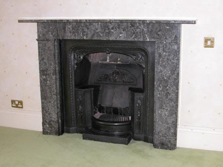 Chimneypiece, 1st Floor W2, Sheringham Hall
