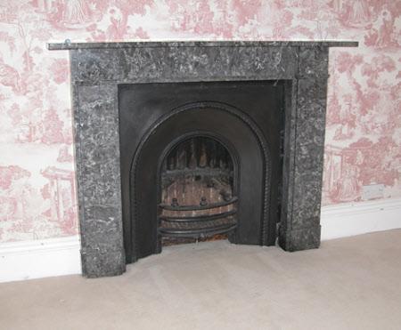 Chimneypiece, 1st Floor W3, Sheringham Hall