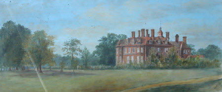 View of East Hall, Feltwell