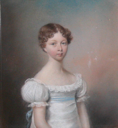 Miss Morris, daughter of Joseph and Martha Morris