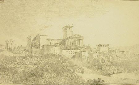 The Temple at Cori, Lazio