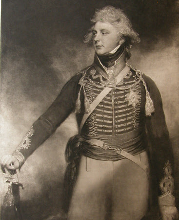 King George IV (1762-1830) as Colonel of the 10th Light Dragoons