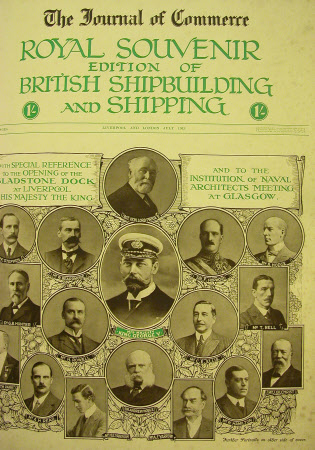 The journal of commerce. Royal souvenir edition of British shipbuilding and shipping.