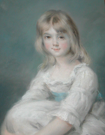 Elizabeth Catherine Caroline Hervey, later The Hon. Mrs Charles Rose Ellis (1780-1803) as a Child