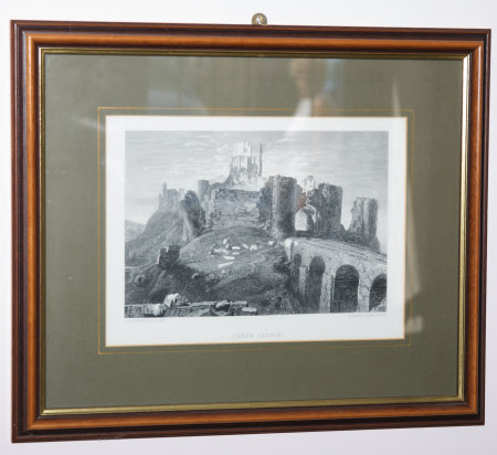 Corfe Castle, Dorset (after Joseph Mallord William Turner, RA)
