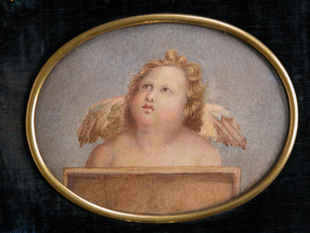 Winged Putto (after Raphael)