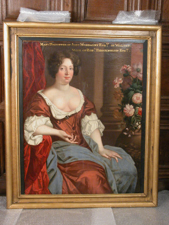 Mary Mordaunt, Mrs Robert Throckmorton