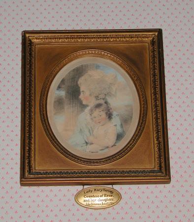 Lady Mary Caroline Hervey, Countess of Erne (1753-1842) and her daughter Elizabeth Caroline Mary ...