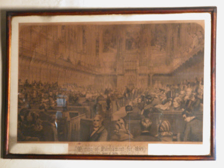 Meeting of Parliament for 1859