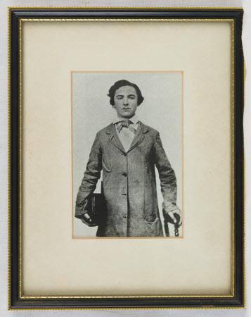 Thomas Hardy (1840-1928) aged 16