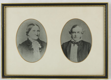Jemima Hand, Mrs Thomas Hardy (1813-1904) and Thomas Hardy (1811-1892)