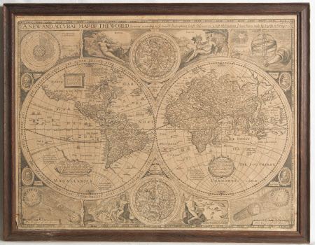 Map of the World: 1651